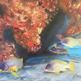 by Naciye Atlihan - Painting All Painting