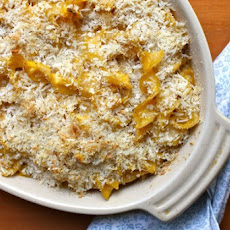 Butternut Squash Whole-Wheat Mac & Cheese