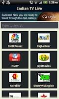 Screenshot of 3G Indian Live TV