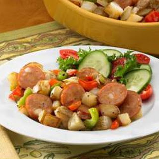 Johnsonville® Chipotle and Monterey Jack Cheese Chicken Sausage Potato Hash