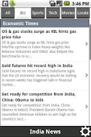 Screenshot of News India