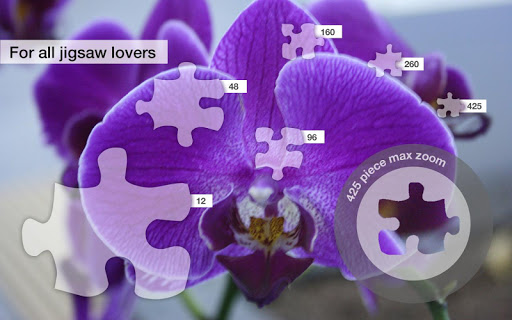 Jigsaw Puzzles: Orchid Flowers - screenshot