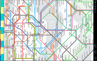 Screenshot of London Bus Rail Tube Maps