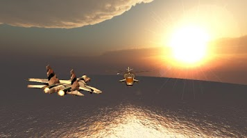 Screenshot of Sky Wars After Burner Fighter