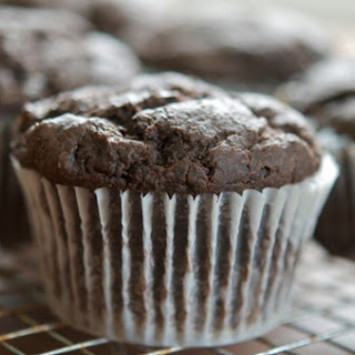 Chocolate Persimmon Muffins