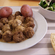 C T's Swedish Meatballs (Crockable)