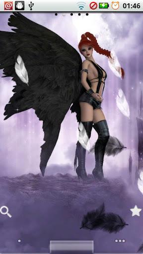 Alluring Angels Live Wallpaper