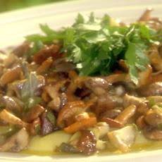 Sauteed Mixed Mushrooms with Sage, Butter and Parsley