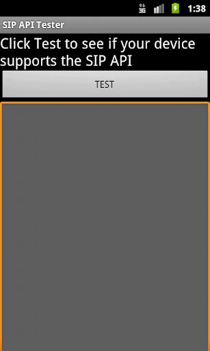 SIP API Tester