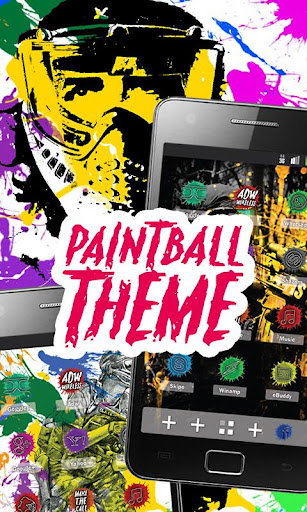 PAINTBALL ADW Theme