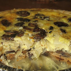 Vidalia Onion and Mushroom Pie