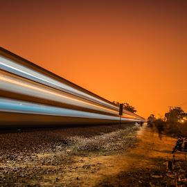 by Sahil Solanki - Transportation Trains