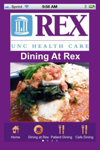 Dining At Rex Health Care