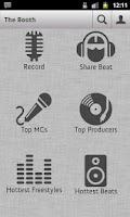 Screenshot of The Booth Rap Studio
