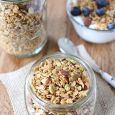 This easy homemade Coconut Granola is great with yogurt or by the handful!