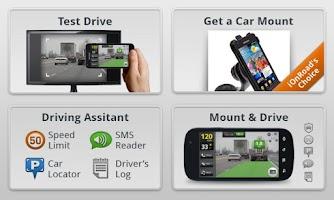 Screenshot of iOnRoad Augmented Driving Pro