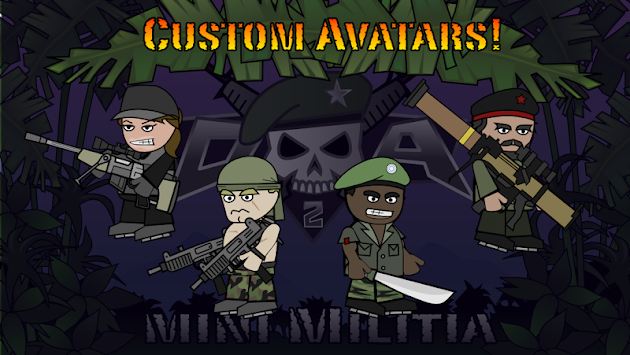 Doodle Army 2 : Mini Militia APK screenshot thumbnail 5