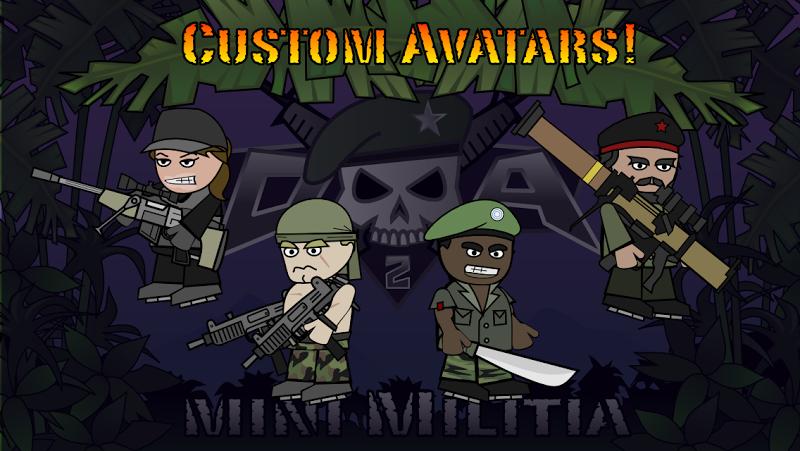 Doodle Army 2 : Mini Militia Screenshot 4