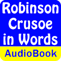 Robinson Crusoe in Words