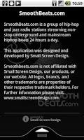 Screenshot of SmoothBeats.com Radio
