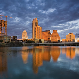 Austin Skyline by Tom DiMatteo - Buildings & Architecture Office Buildings & Hotels