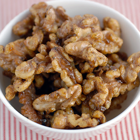 Vanilla Roasted Walnuts