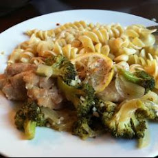 Lemon Chicken And Broccoli Pasta