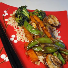 Simple Vegetarian Stir-Fry