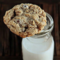 Oatmeal Cookies with Cranberry Raisinets