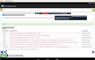 Screenshot of NetBeans Tips and Tricks