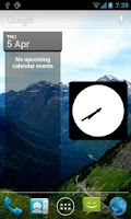 Screenshot of Your Picture Clock Widget Lite