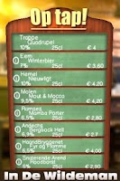 Screenshot of On Tapp In de Wildeman