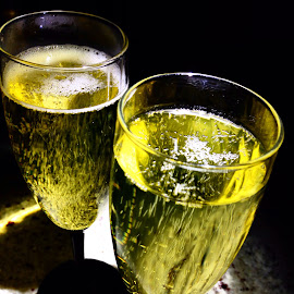A toast to you by Sue Conwell - Food & Drink Alcohol & Drinks ( champagne, thirsty, bubbles, yummy, bubbly )