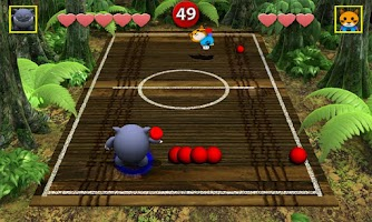 Screenshot of Chompy's Dodgeball Lite