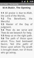 Screenshot of Koran