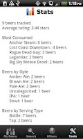 Screenshot of Beer - List, Ratings & Reviews