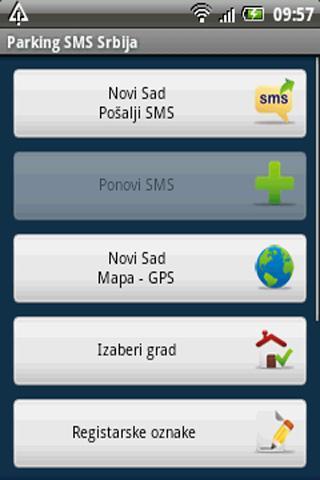 Parking SMS Srbija