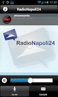 Screenshot of Radio Napoli 24