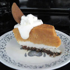 Frozen Spiced Pumpkin Pie