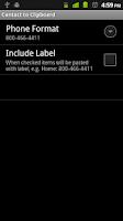 Screenshot of Contact to Clipboard