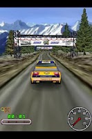 Screenshot of 3D Snow Rally Canada