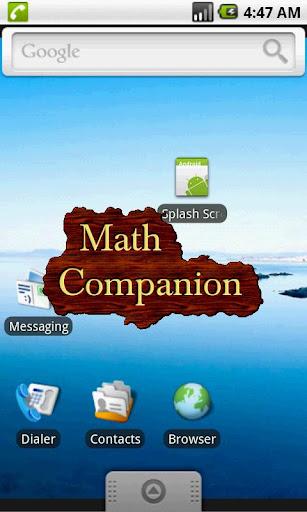 玩教育App|Math Companion免費|APP試玩