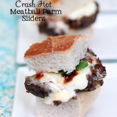 Crash Hot Parmesan Meatballs for Spaghetti or Sliders