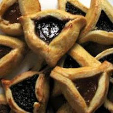 Prune and Apricot Hamantaschen