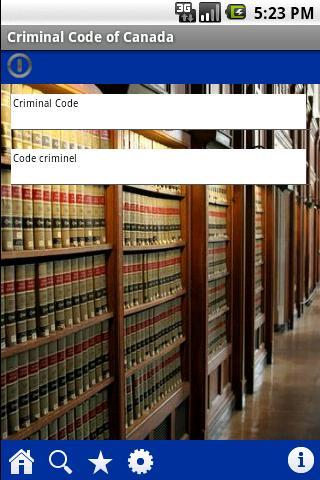 Criminal Code of Canada