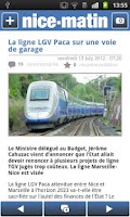 Screenshot of Nice-Matin