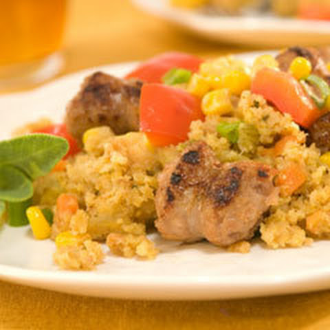 Best Ever Sausage & Cornbread Stuffing Dinner