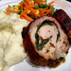 Grilled Stuffed Pork Loin