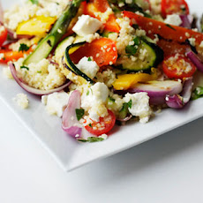 Chargrilled Vegetable, Couscous And Feta Salad