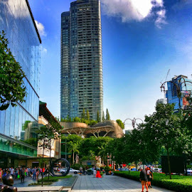 Cityscape by Max Samson - Instagram & Mobile Android ( scotts rd, veera, android, ion orchard, cityscape, mobile )